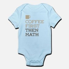 Coffee Then Math Body Suit