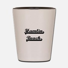 Hamlin Beach Classic Retro Design Shot Glass