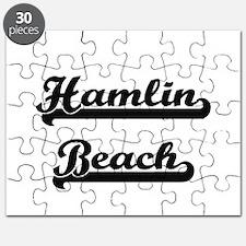 Hamlin Beach Classic Retro Design Puzzle