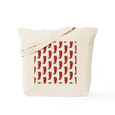 Pepper Diva Pattern Tote Bag