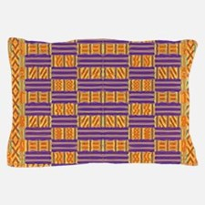 Colorful Kente Pattern Pillow Case