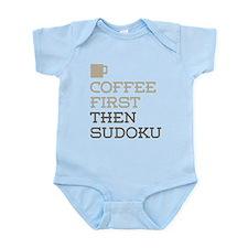 Coffee Then Sudoku Body Suit