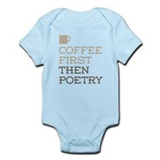 Coffee Then Poetry Body Suit