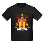 Lafond Family Crest Kids Dark T-Shirt