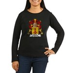Lafond Family Crest Women's Long Sleeve Dark T-Shi
