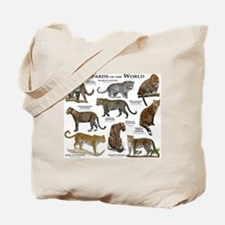 Leopards of the World Tote Bag