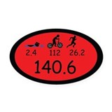 140.6 Oval Car Magnets