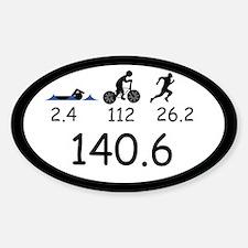 Ironman Triathlon Decal