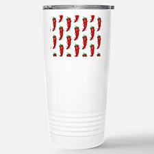 Pepper Diva Pattern Travel Mug