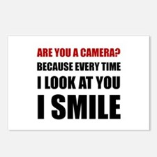 Camera Smile Postcards (Package of 8)