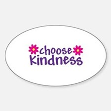 Choose Kindness - Oval Decal