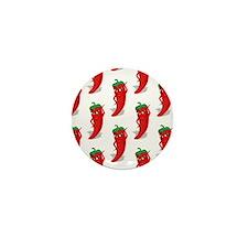 Pepper Diva Pattern Mini Button (10 pack)