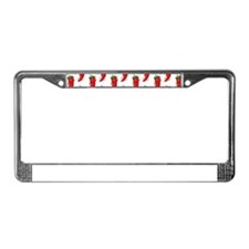 Pepper Diva Pattern License Plate Frame