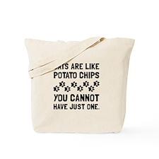 Cats Like Potato Chips Tote Bag