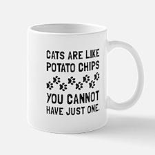 Cats Like Potato Chips Mugs