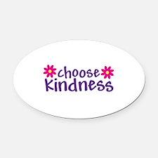 Choose Kindness - Oval Car Magnet