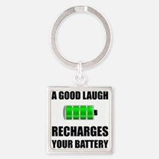 Laugh Recharges Battery Keychains