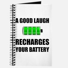 Laugh Recharges Battery Journal