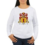 Labat Family Crest Women's Long Sleeve T-Shirt