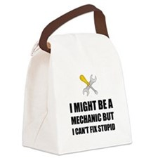 Mechanic Fix Stupid Canvas Lunch Bag