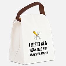Mechanic Fix Stupid Canvas Lunch Bag