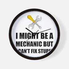 Mechanic Fix Stupid Wall Clock