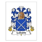 Labadie Family Crest Small Poster