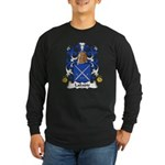 Labadie Family Crest Long Sleeve Dark T-Shirt