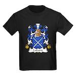 Labadie Family Crest Kids Dark T-Shirt