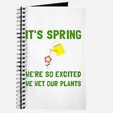 Spring Wet Plants Journal