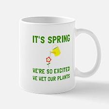 Spring Wet Plants Mugs