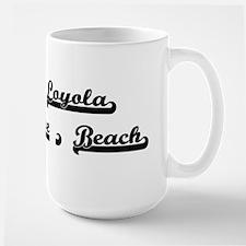 Loyola Ave. Beach Classic Retro Design Mugs