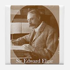 Sir Edward Elgar Tile Coaster