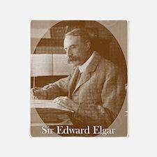 Sir Edward Elgar Throw Blanket