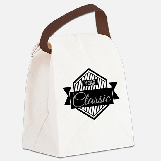 Personalized Birthday Classic Canvas Lunch Bag