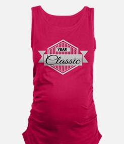 Personalized Birthday Classic Maternity Tank Top
