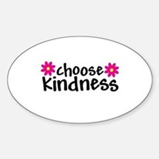 Choose Kindness - Oval Bumper Stickers