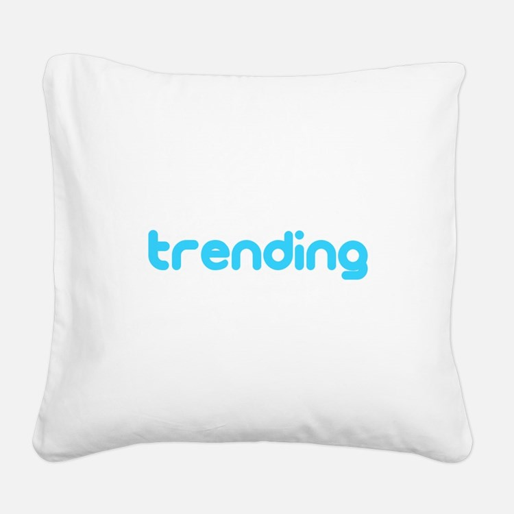 trending Square Canvas Pillow