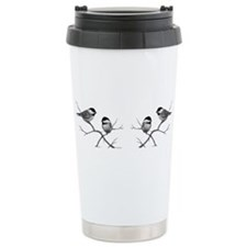 chickadee birds Travel Mug