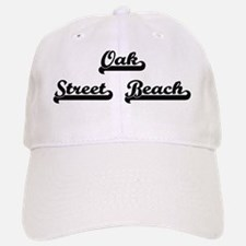 Oak Street Beach Classic Retro Design Baseball Baseball Cap