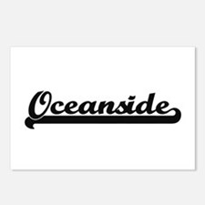 Oceanside Classic Retro D Postcards (Package of 8)