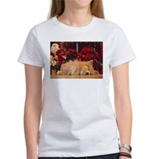 Sleepy Christmas Corgi T-Shirt