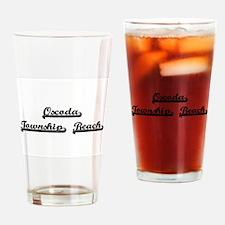 Oscoda Township Beach Classic Retro Drinking Glass