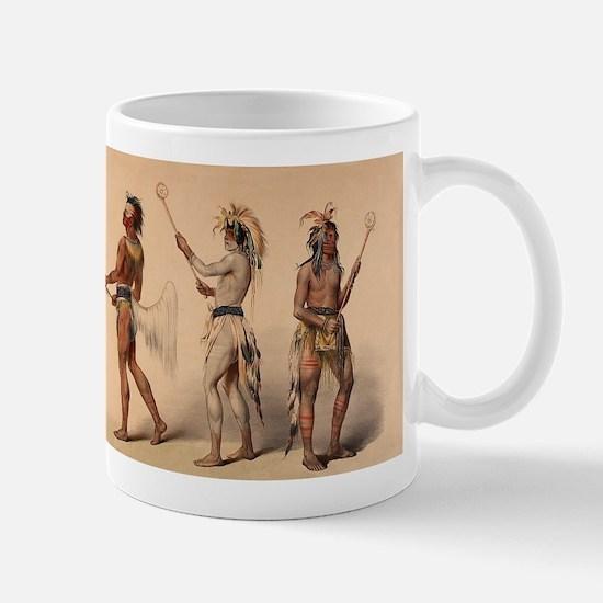 lacrosse art Mugs