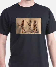 lacrosse art T-Shirt