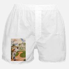 baseball art Boxer Shorts