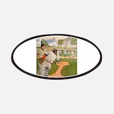baseball art Patch