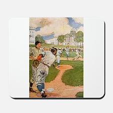 baseball art Mousepad