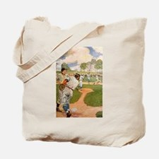 baseball art Tote Bag