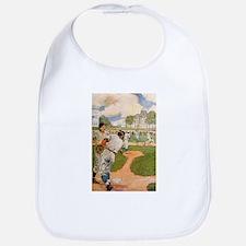 baseball art Bib